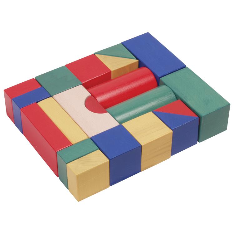 Építõkocka (5 cm-es, színes)