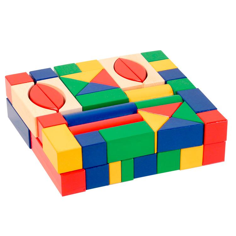 Építõkocka (3 cm-es, színes)