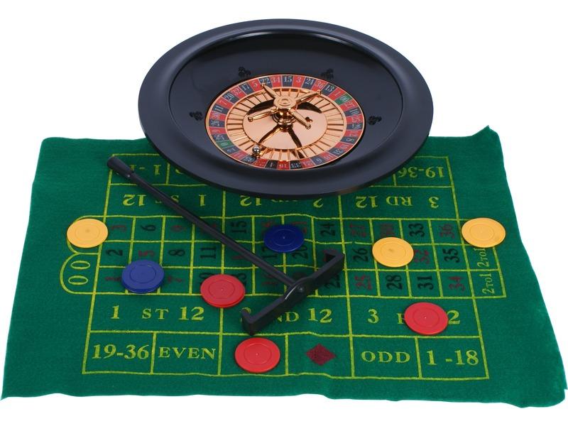 Rulett társasjáték dobozban