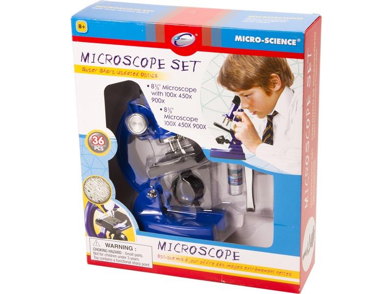 Mikroszkóp 36 darabos készlet
