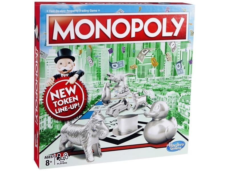 Monopoly klasszikus társasjáték-új kiadás