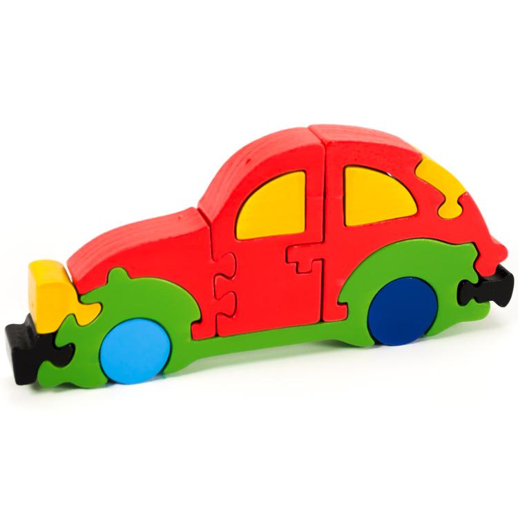 Puzzoo bog�rh�t� aut� (piros)