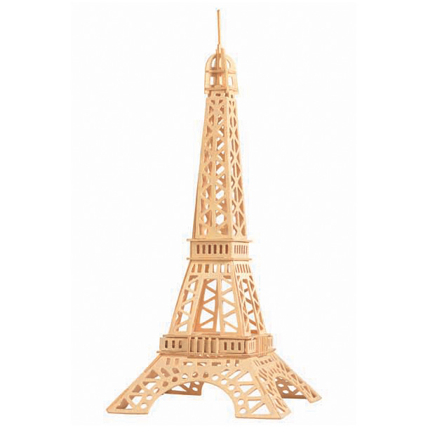 3D puzzle Eiffel-torony (natúr)