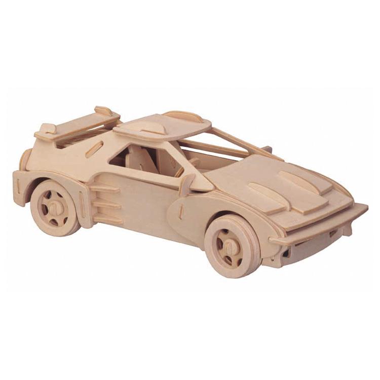 3D puzzle Ferrari (natúr)