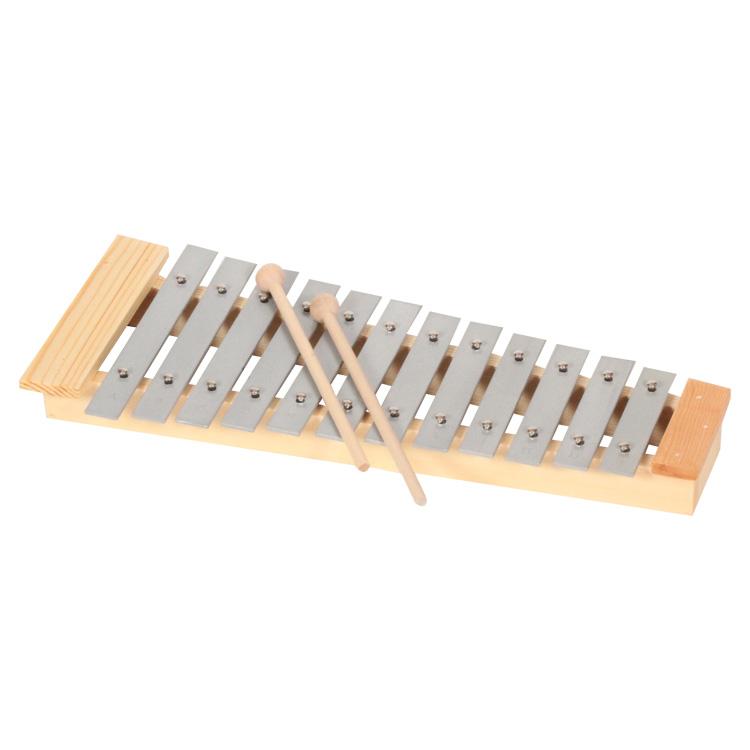 Metalofon (1,5 oktávos, hangolt)