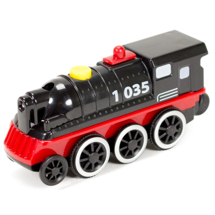 Eichhorn elemes mozdony (fekete)