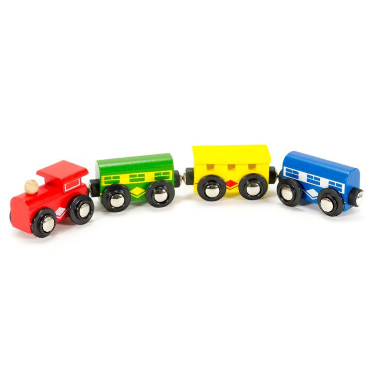 Vonat (piros fülkés)