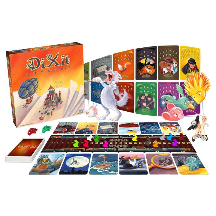 Dixit Odyssey - Társasjáték