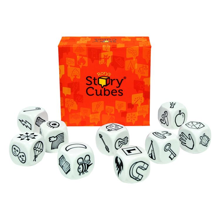 Story cubes (english) - Sztorikocka (angol, narancs)