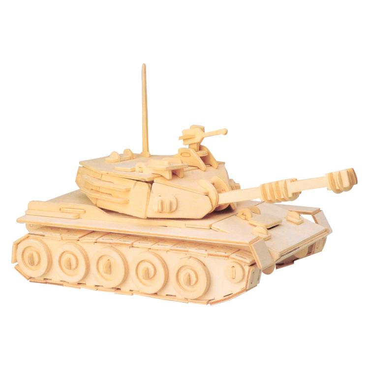 3D puzzle tank II. (natúr)