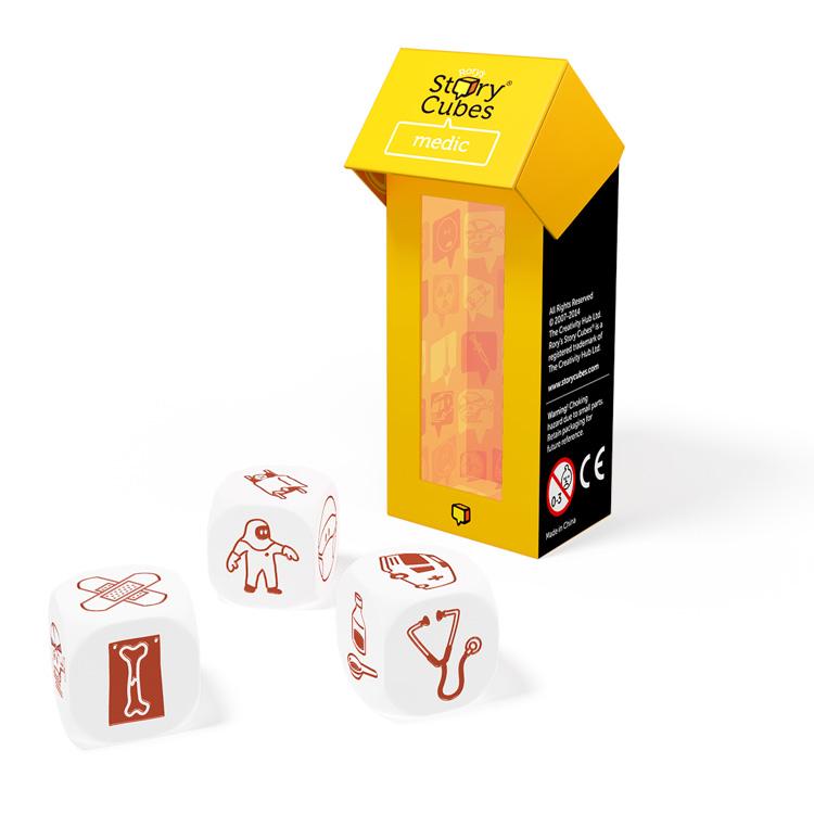 Story Cubes (medic) - Sztorikocka kiegészítõ (sárga)