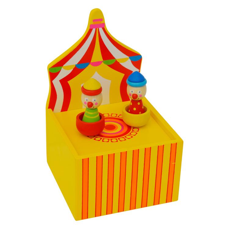 Mágneses zenélõ doboz (cirkuszos)