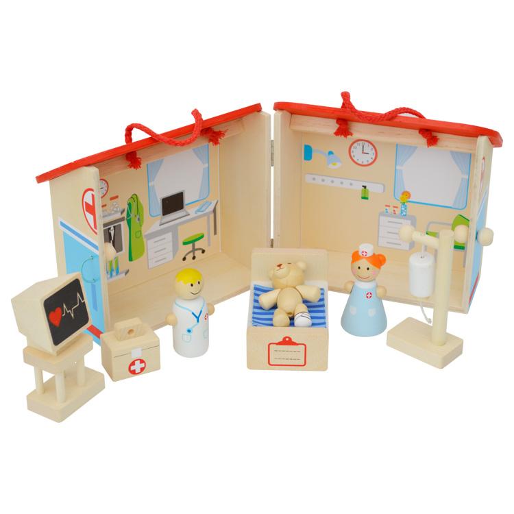 Nyitható kórház (tartozékokkal)