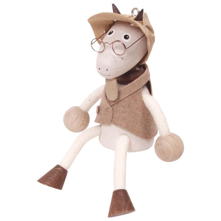Rugós figura (kecske fiú)