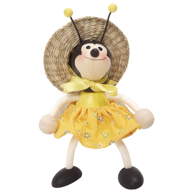 Rugós figura (méhecske-lány)