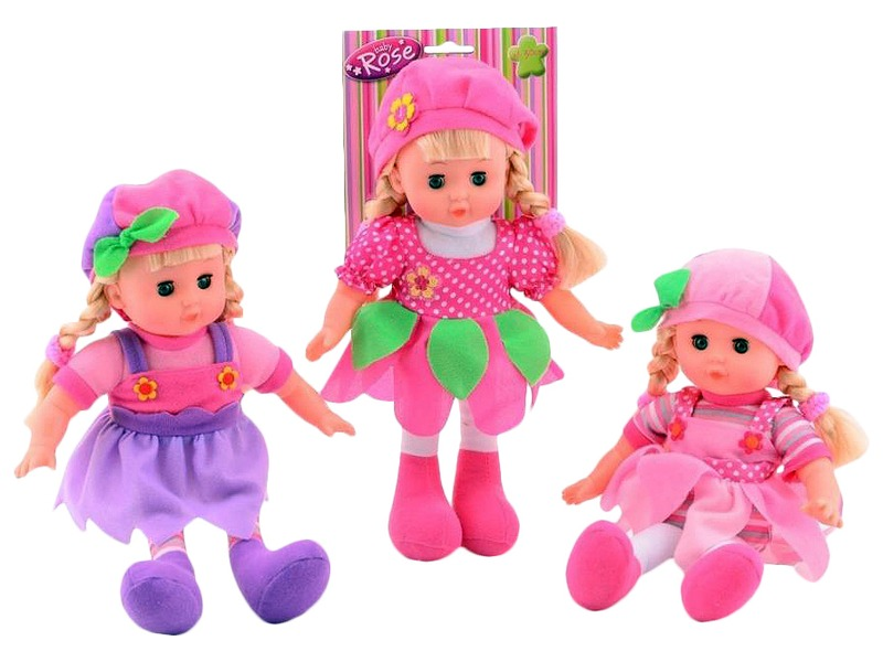 Baby Rose játékbaba - 32 cm, többféle
