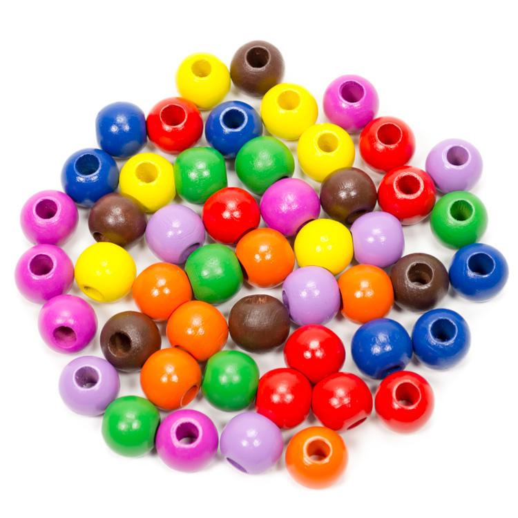 Fagolyó színes (16 mm, 50 db-os)