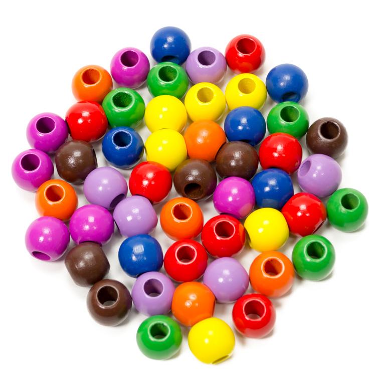 Fagolyó színes (20 mm, 50 db-os)