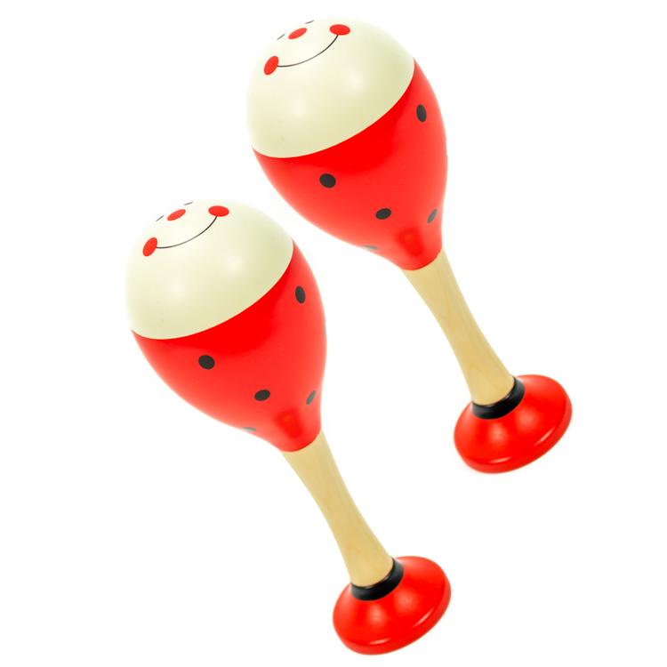 Rumbatök (piros, 1 pár)