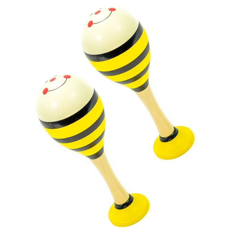Rumbatök (sárga, 1 pár)