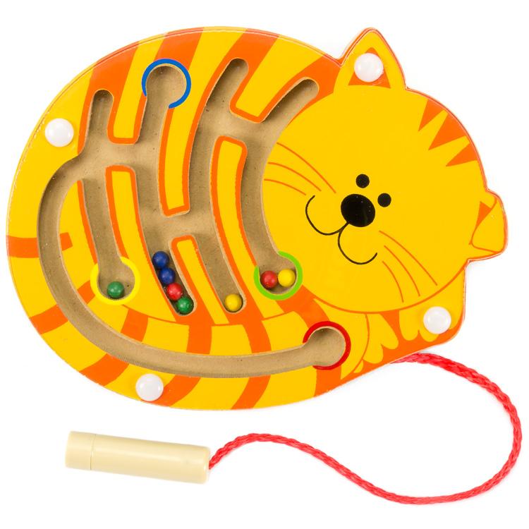 Mágneses golyóvezetõ (kicsi, cica)