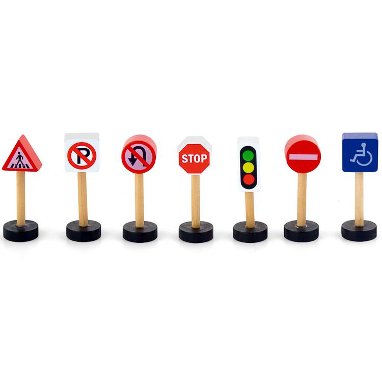 Vonatkészlet kiegészítõ (közlekedési táblák)