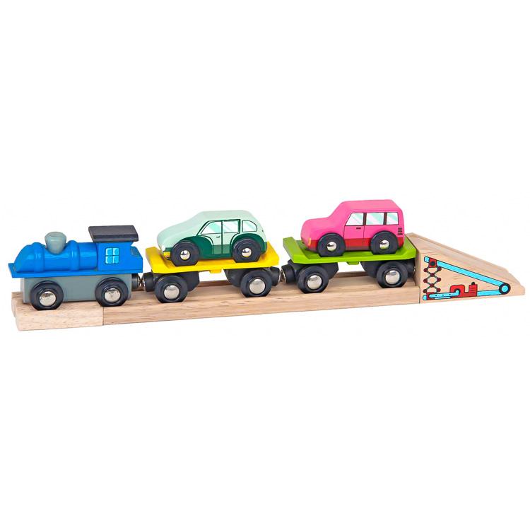 Vonatkészlet kiegészítõ - autószállító vonat
