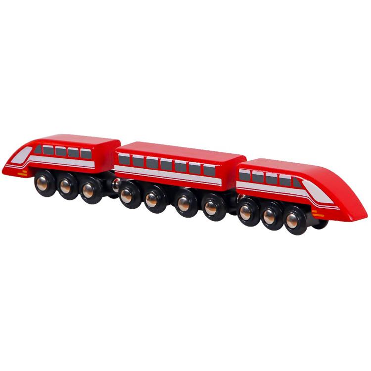 Vonatkészlet kiegészítõ - piros gyorsvonat