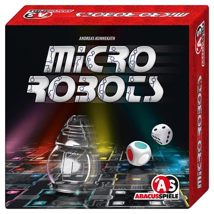 Micro Robots - logikai társasjáték