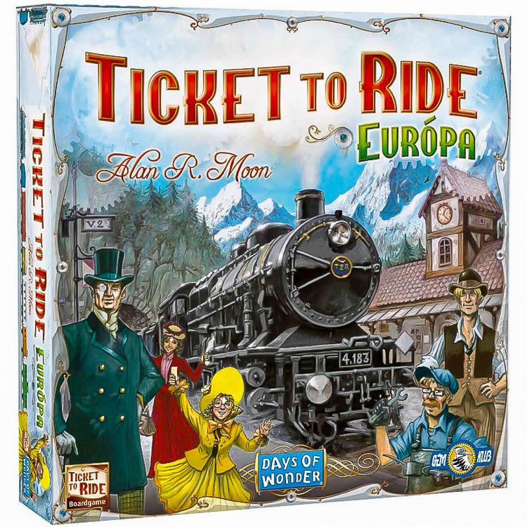 Ticket to Ride Eur�pa - Strat�giai t�rsasj�t�k