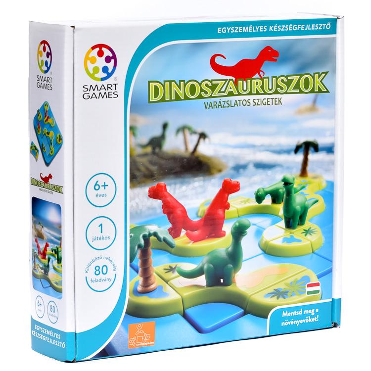 Dinoszauruszok - A var�zslatos sziget - Logikai J�t�k
