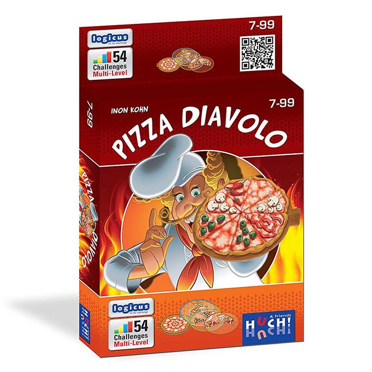 Pizza Diavolo - Logikai Játék