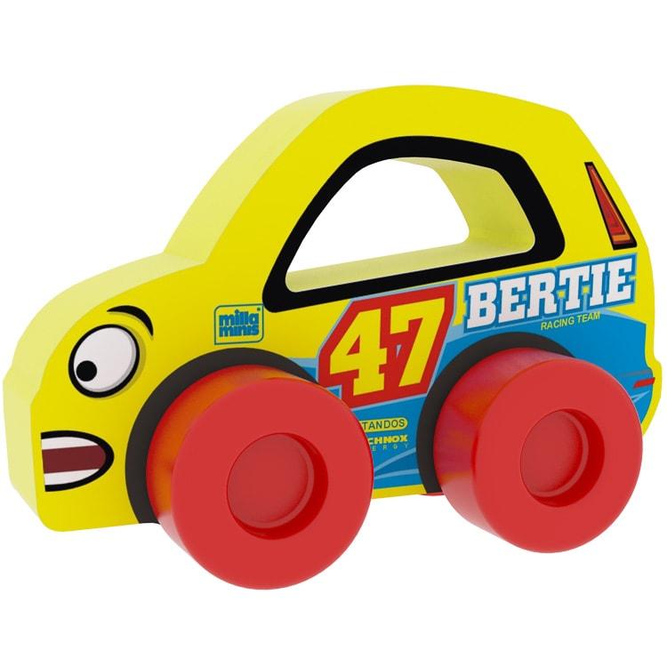 Versenyautó - Bertie 47 - Sárga
