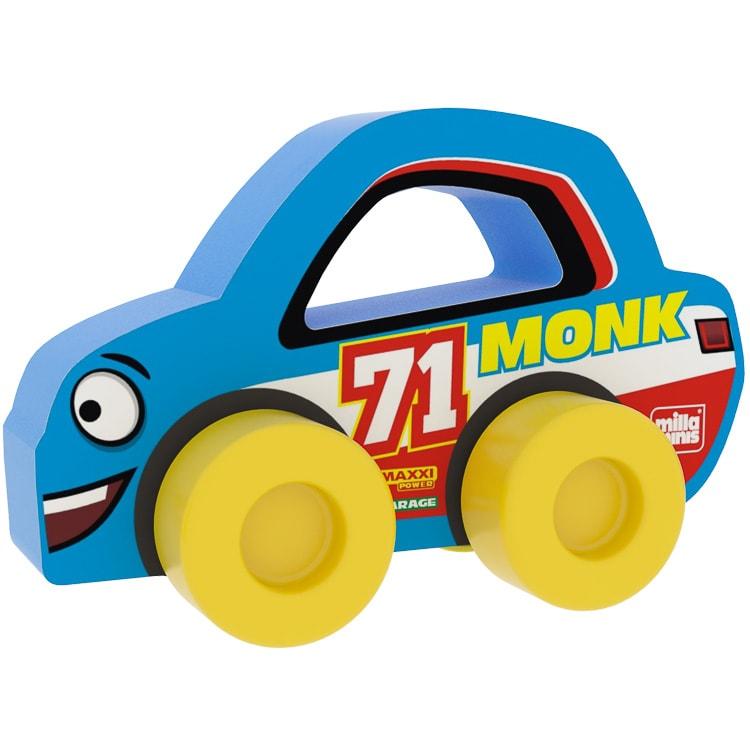 Versenyautó - Monk 71 - Kék