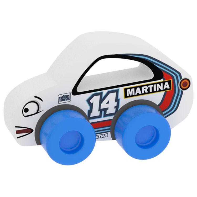 Versenyautó - Martina 14 - Fehér