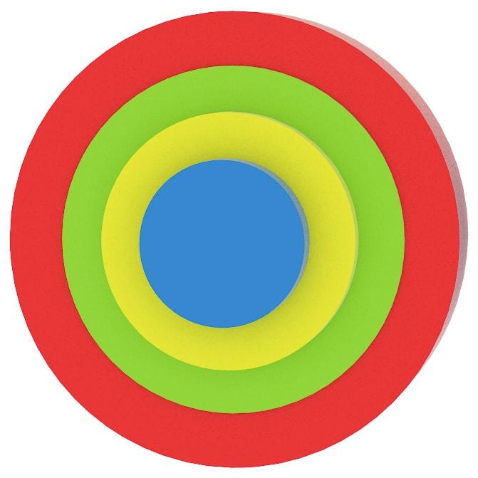 Az elsõ kirakósom - Piros kör