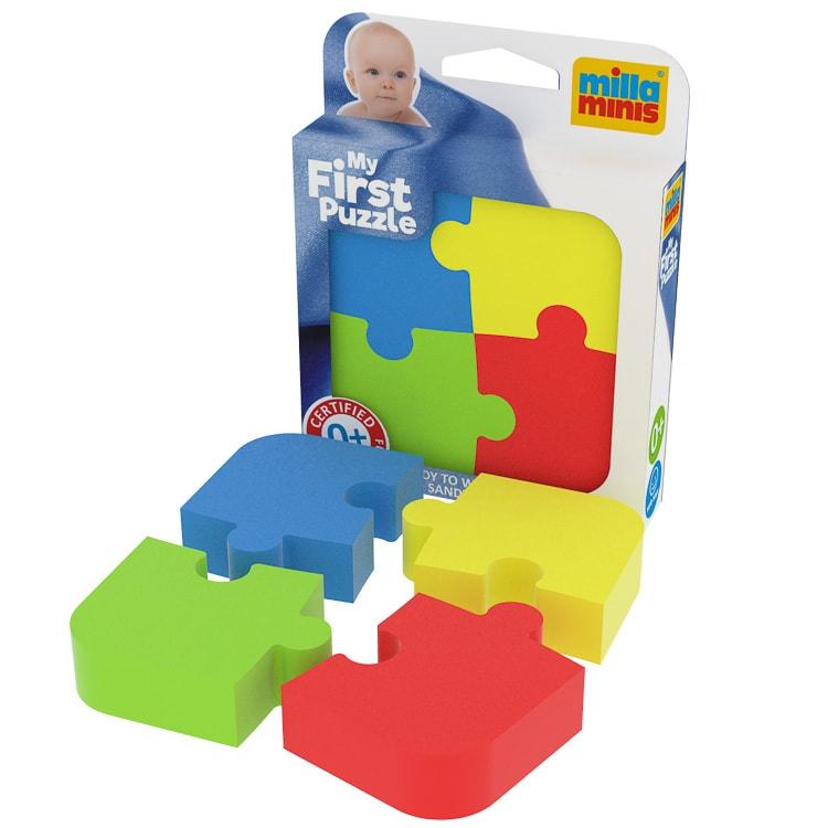 Az elsõ kirakósom - Színes puzzle
