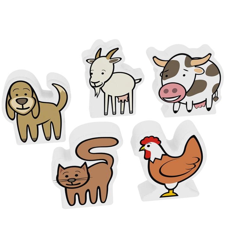 Az elsõ állataim - Háziállatok (tehénnel)