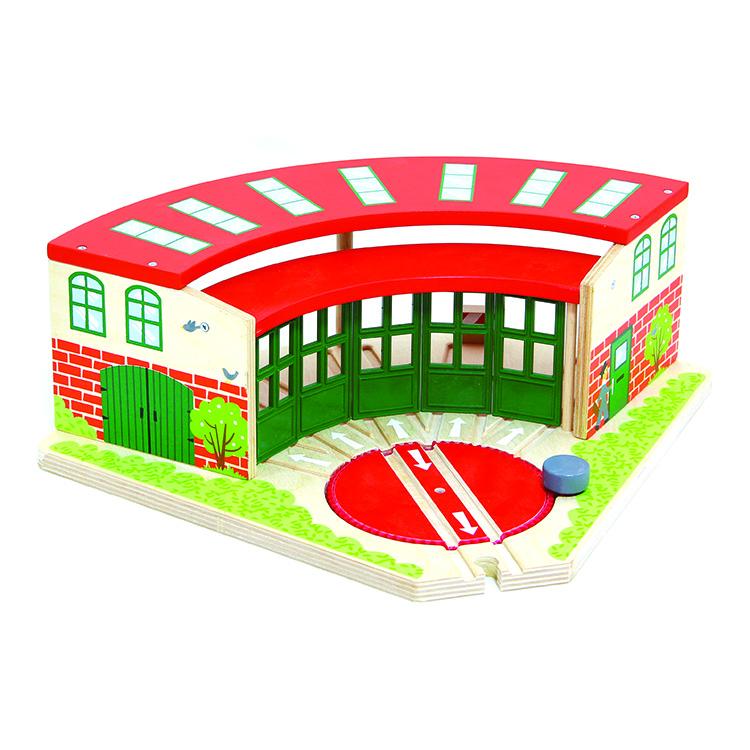 Végállomás (zöld-piros, 5 kocsis)