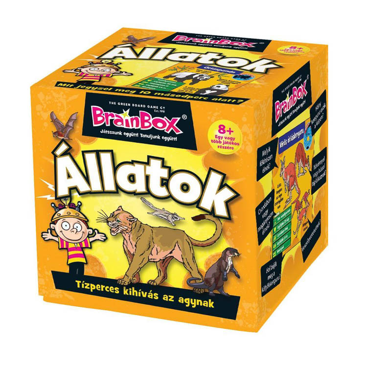 BrainBox - Állatok - Társasjáték