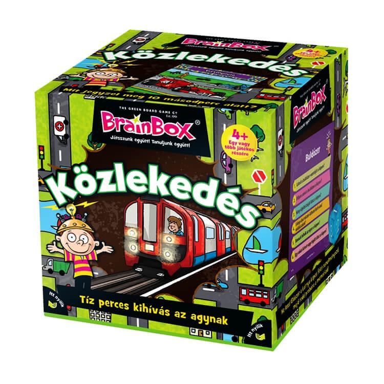 BrainBox - Közlekedés - Társasjáték
