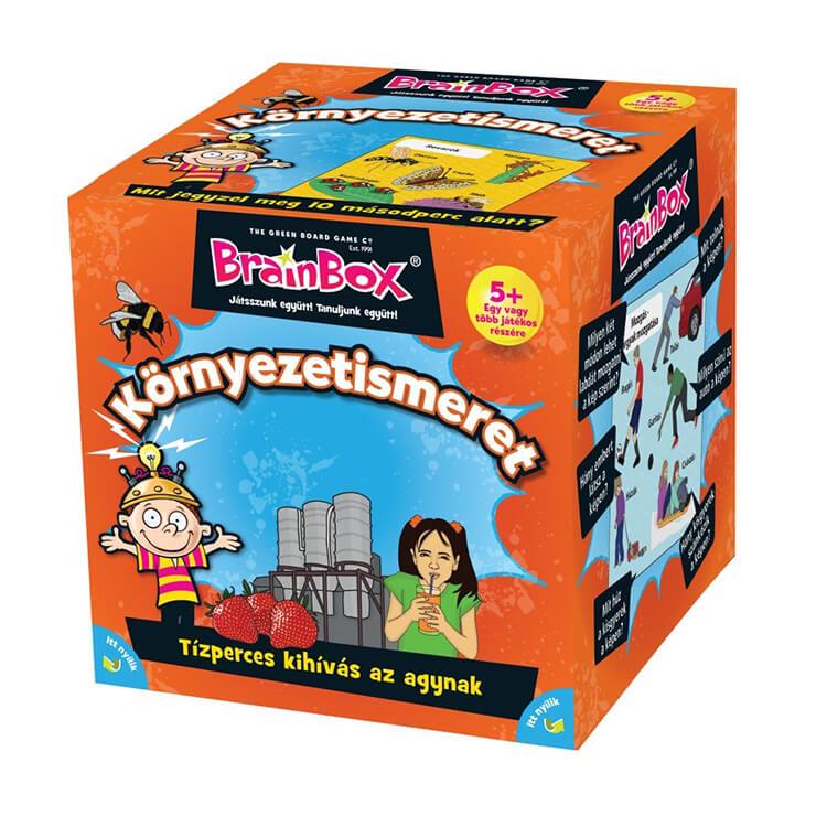 BrainBox - Környezetismeret - Társasjáték
