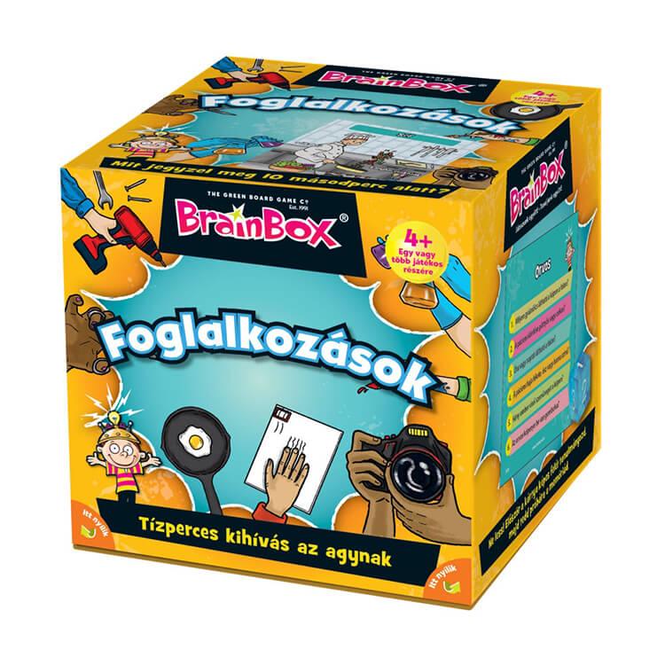 BrainBox - Foglalkozások - Társasjáték