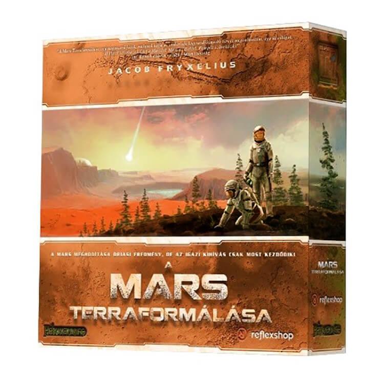 A Mars terraformálása - Társasjáték