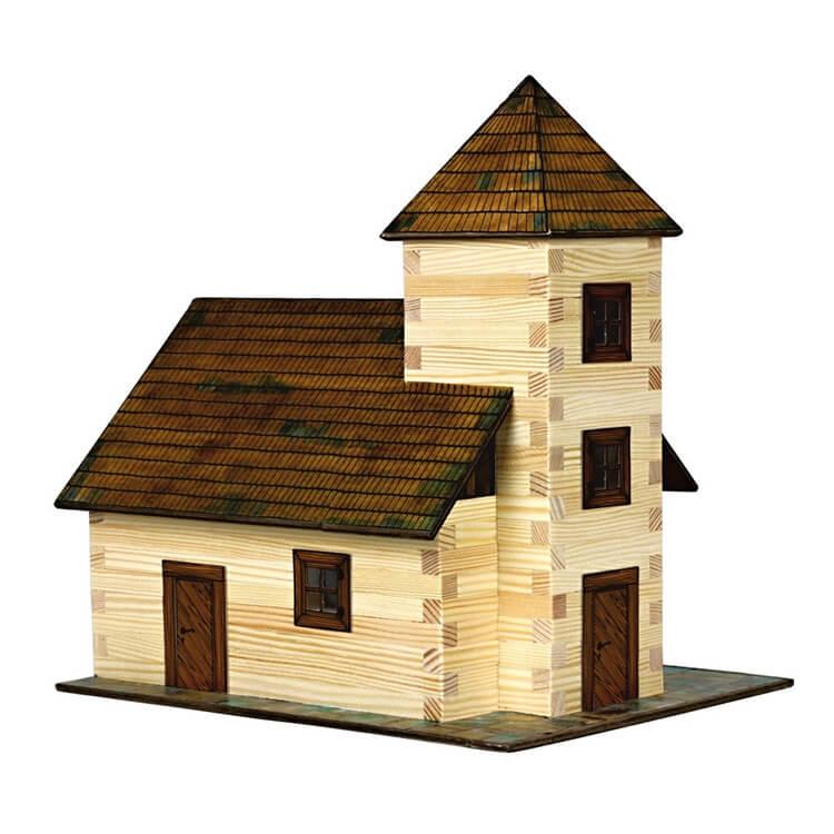 Walachia fa építõjáték - Templom