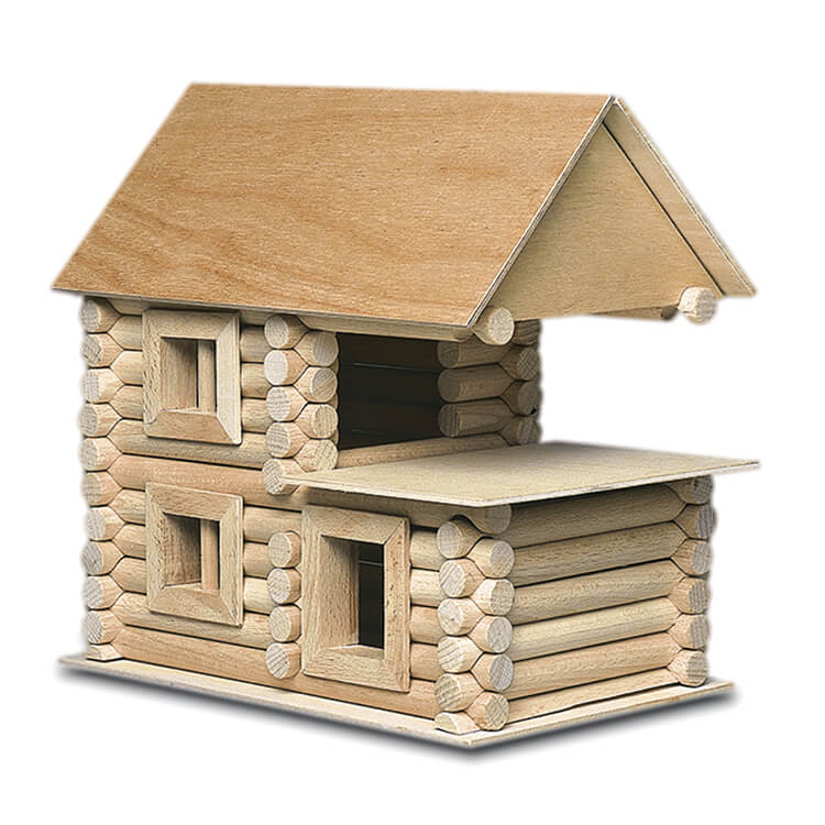 Walachia fa építõjáték - Vario XL (184 db-os)