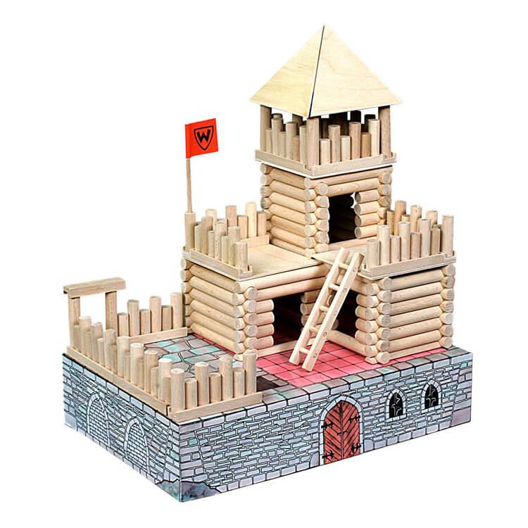 Walachia fa építõjáték - Vario Fort (194 db-os)