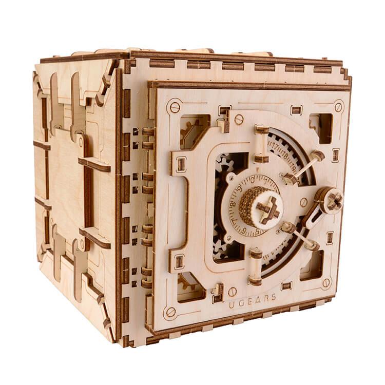 UGEARS - Széf (mechanikus 3D modell)