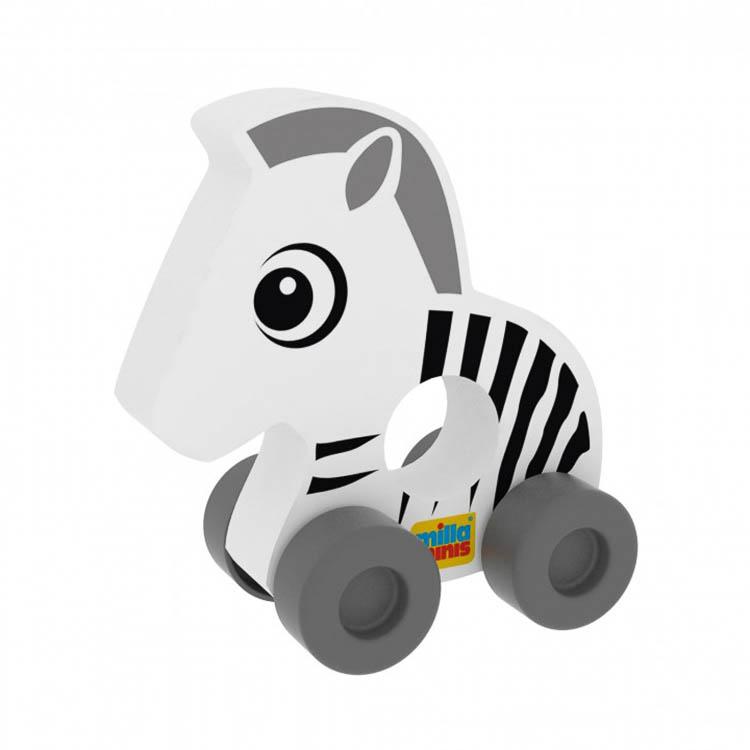 Az elsõ autóm - Zebra (színes, csíkos)