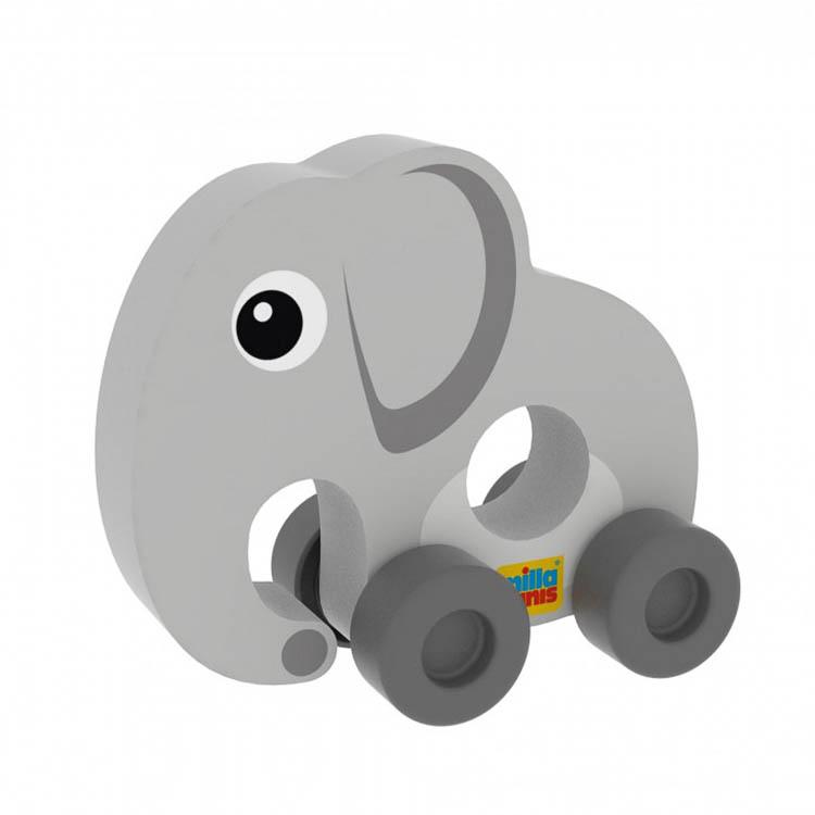 Az elsõ autóm - Elefánt (színes, szürke)